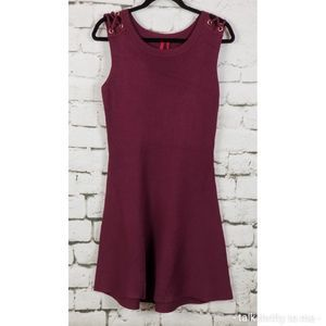 LOVE SCARLETT | Knit Grommet Dress Large